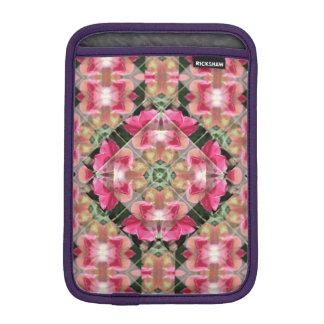 Red Rose Mandala Rickshaw iPad Mini Sleeve
