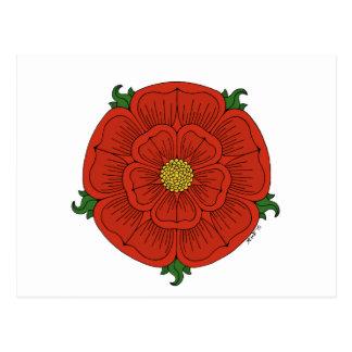 Red Rose of Lancaster Postcard