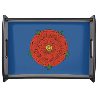 Red Rose of Lancaster Serving Tray