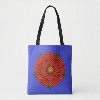 Red Rose of Lancaster Tote Bag