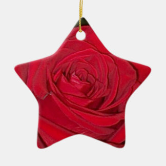 Red Rose Ornament