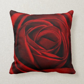 Red rose pillow throw cushions