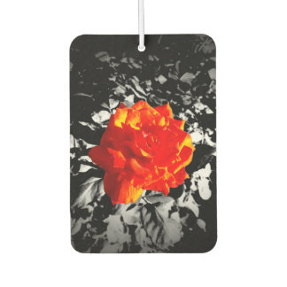 Red rose Rectangle Air Freshener