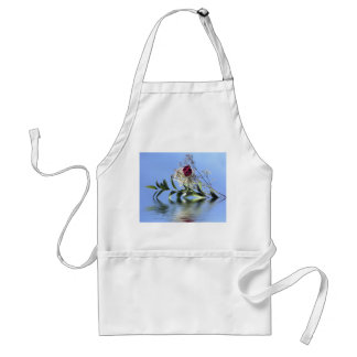 Red Rose & Reflection Apron