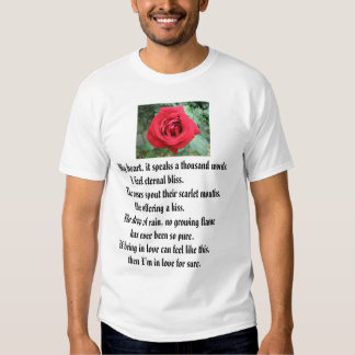 Red Rose, Roses Have Thorns!, Beware of Beauty. T-shirts
