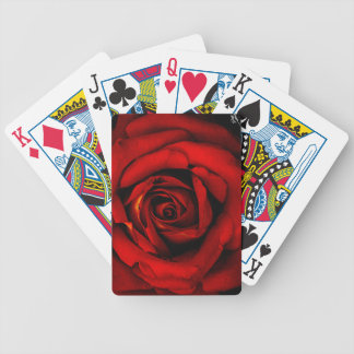 Red Rose Royalty Playing Cards