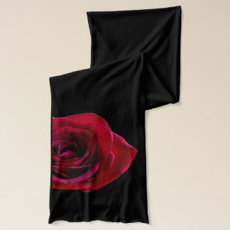 Red Rose Scarf Romantic Red Rose Scarves Gifts