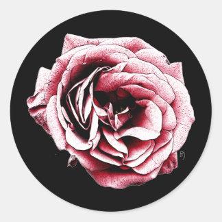 Red Rose - Sticker