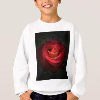 Red Rose Sweatshirt