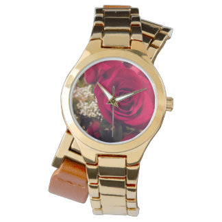 Red Rose Women's Watch