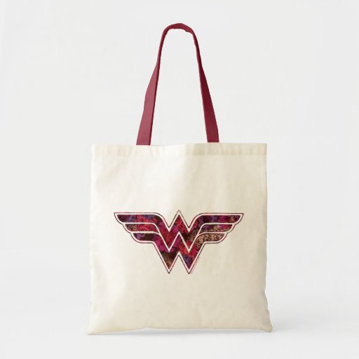 Red Rose WW Canvas Bags