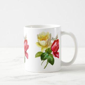 Red Rose Yellow Rose Mug