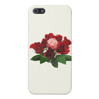 Red Roses and a Pink Rose Cases For iPhone 5