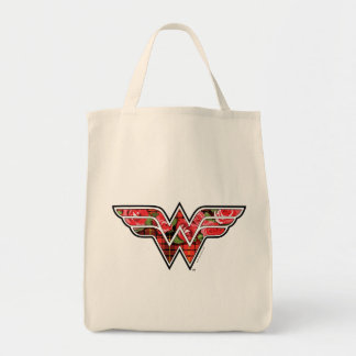 Red Roses and Plaid Wonder Woman Logo