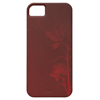 Red Roses and Swirls iPhone 5 Case