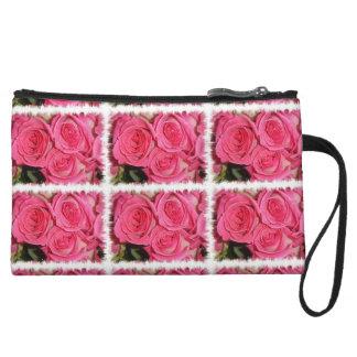 Red Roses Bagettes Bag Wristlets
