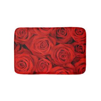 Red Roses Bath Mats