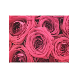 Red Roses canvas Canvas Print