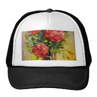Red roses cap