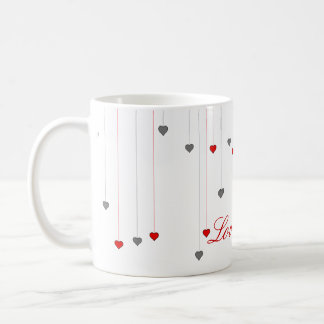 Red roses ... English tea mug