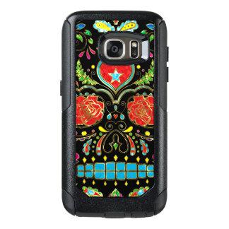Red Roses & Flowers Sugar Skull G1 OtterBox Samsung Galaxy S7 Case