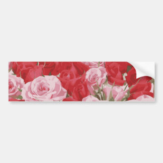 Red Roses for Thalia Bumper Sticker