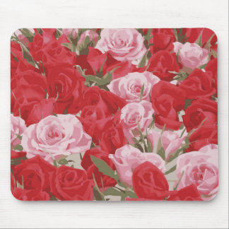Red Roses for Thalia Mouse Mat