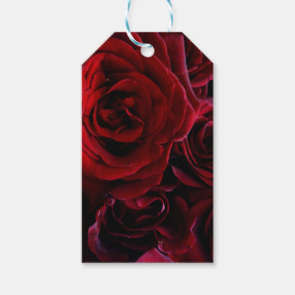 Red Roses Gift Tags