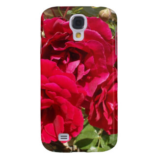 Red Roses In Bloom Samsung Galaxy S4 Cases