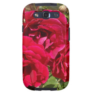 Red Roses In Bloom Galaxy SIII Case