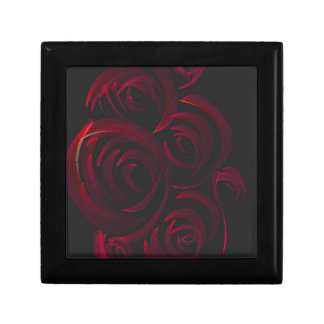 Red Roses in the Dark Small Square Gift Box
