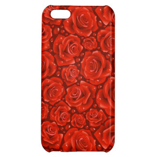 Red Roses iPhone 5C Glossy Finish Case iPhone 5C Cases