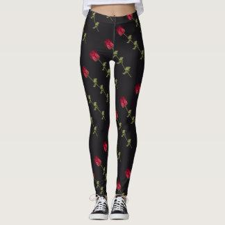 Red Roses Leggings