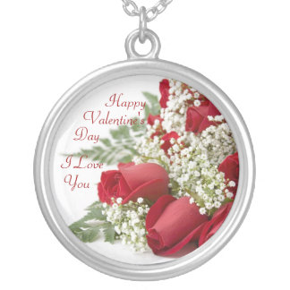 Red Roses Love Necklace