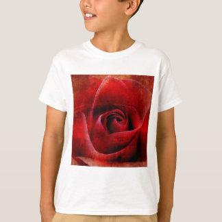 Red Roses Macro. T-Shirt