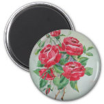 Red roses Magnet