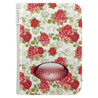 Red roses personalized Caseable Case Cases For Kindle