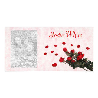 Red Roses - Photocard Picture Card