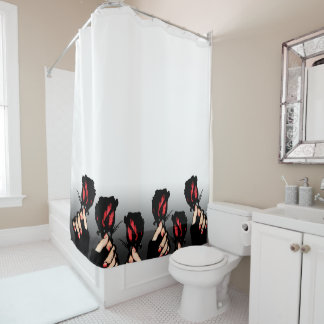 Red Roses Shower Curtains