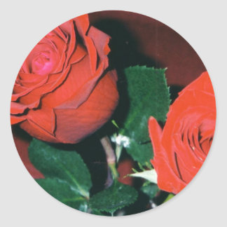 Red Roses Stickers