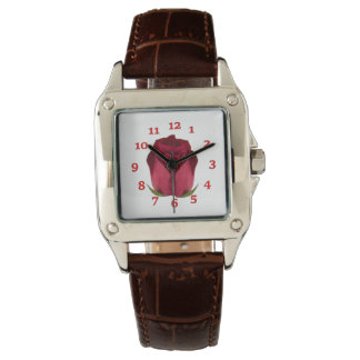 Red Roses Wrist Watches
