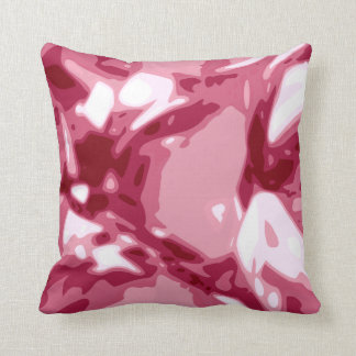 Red Ruby Gem Stone Pillow