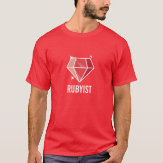 Red Ruby Gemstone Rubyist T-Shirt