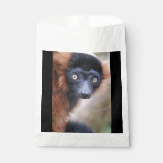 Red Ruffed Lemur Favour Bags