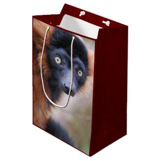 Red Ruffed Lemur Medium Gift Bag