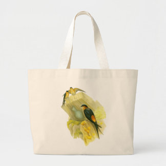 Red-rumped Swallow Canvas Bags