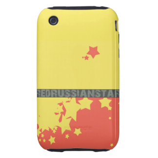 Red Russian Star Comic- Original Cover iPhone 3 Tough Cases