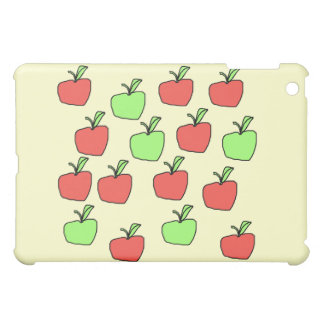 Red s and Green Apples, Pern, on Cream. iPad Mini Cover
