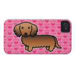 Red Sable Long Coat Dachshund Love