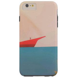 Red Sail Boat Case Tough iPhone 6 Plus Case
